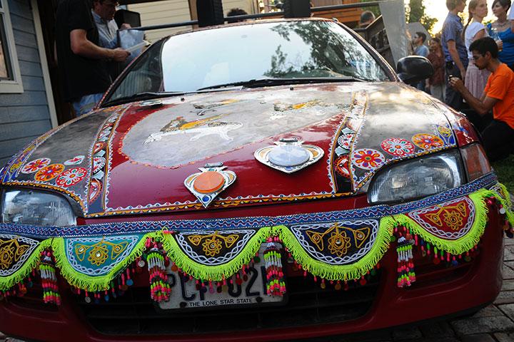 Sehba Sarwar Art Car